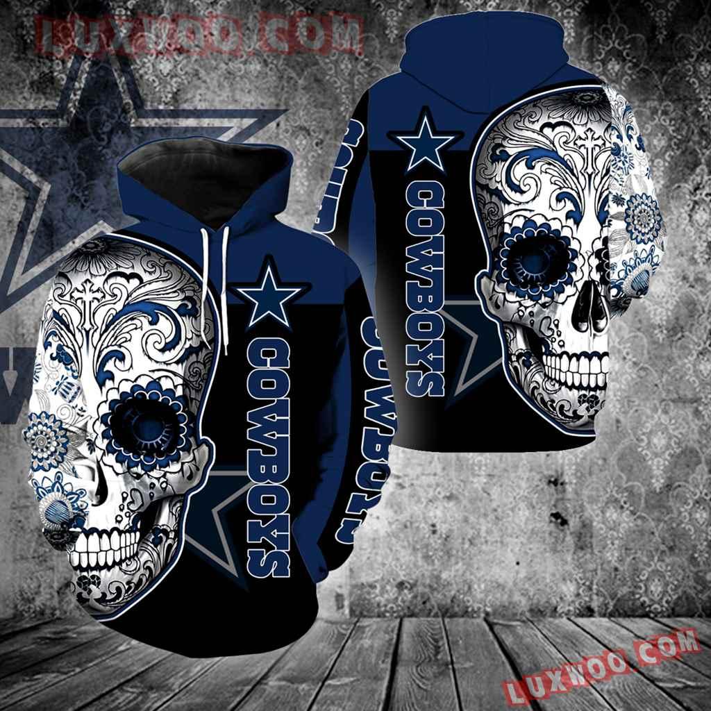 Dallas Cowboys Skull Full Over Print K1081