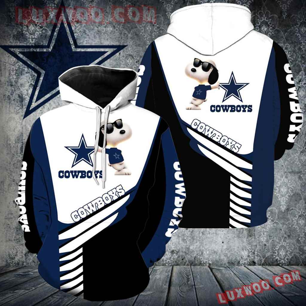 Dallas Cowboys Snoopy New All Over Print V1302