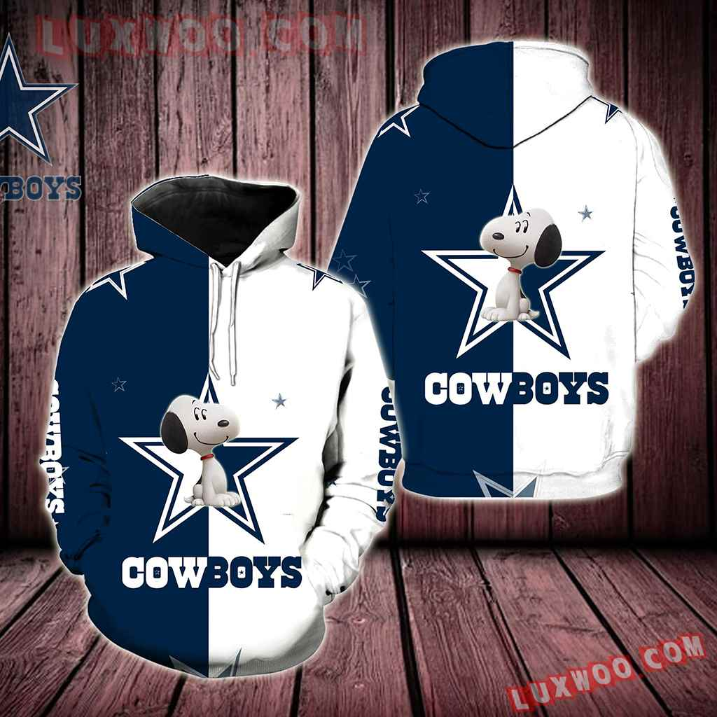 Dallas Cowboys Snoopy New Star Full All Over Print V1570