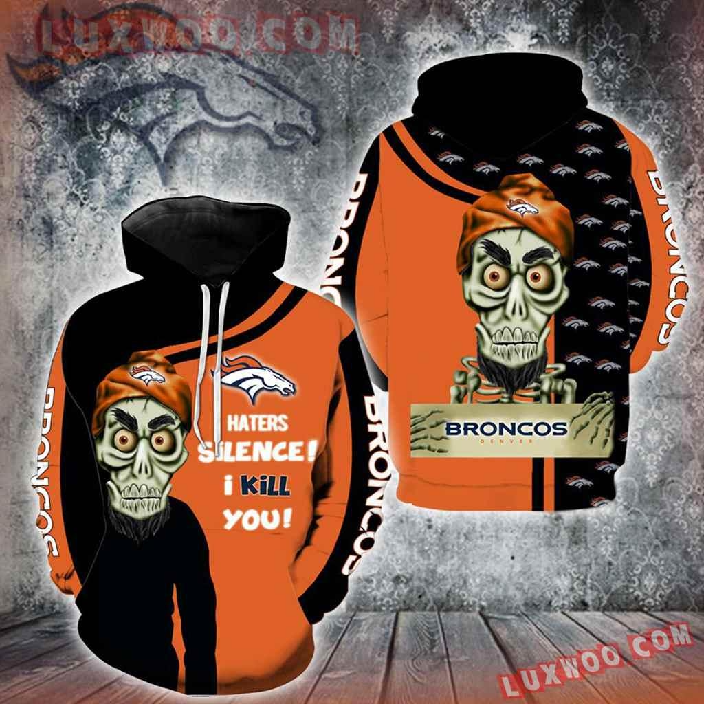 Denver Broncos Achmed Skull Full All Over Print K1205