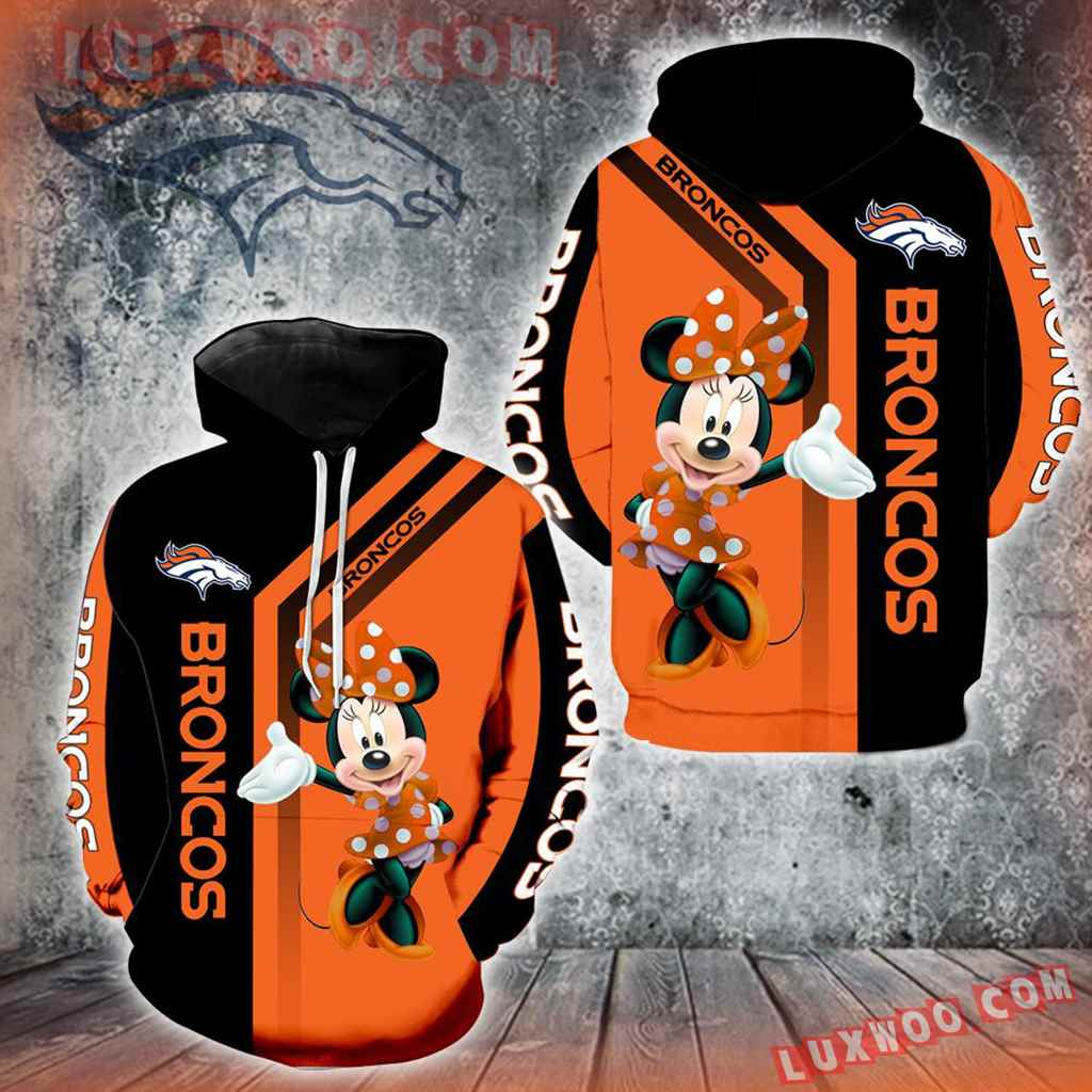 Denver Broncos Minnie Mouse New Full All Over Print V1469