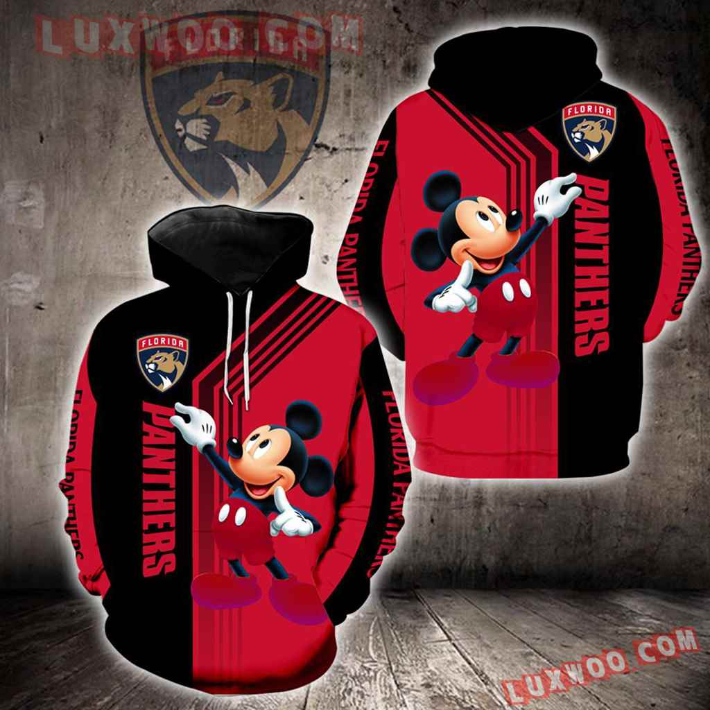 Florida Panthers Mickey Mouse New Full All Over Print V1531