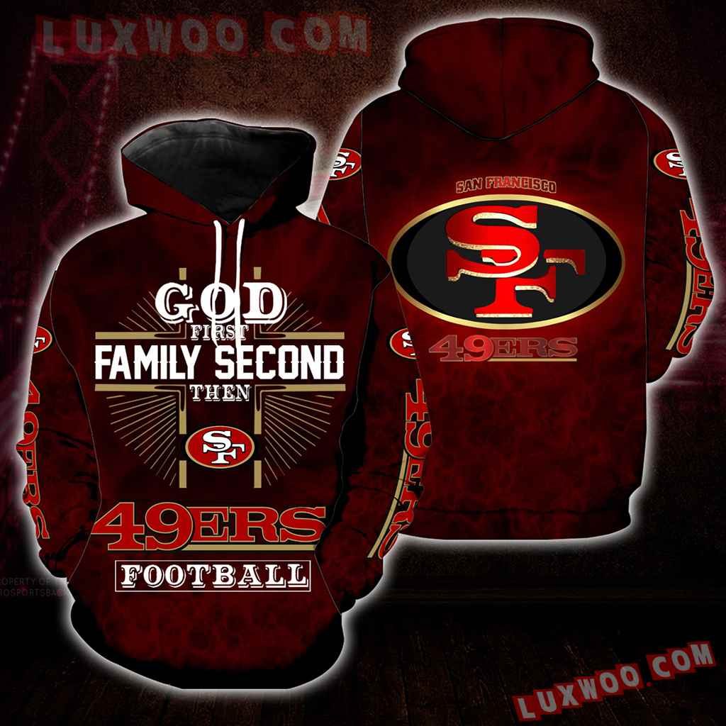 God First Family Second Then 49ers Full All Over Print S1393