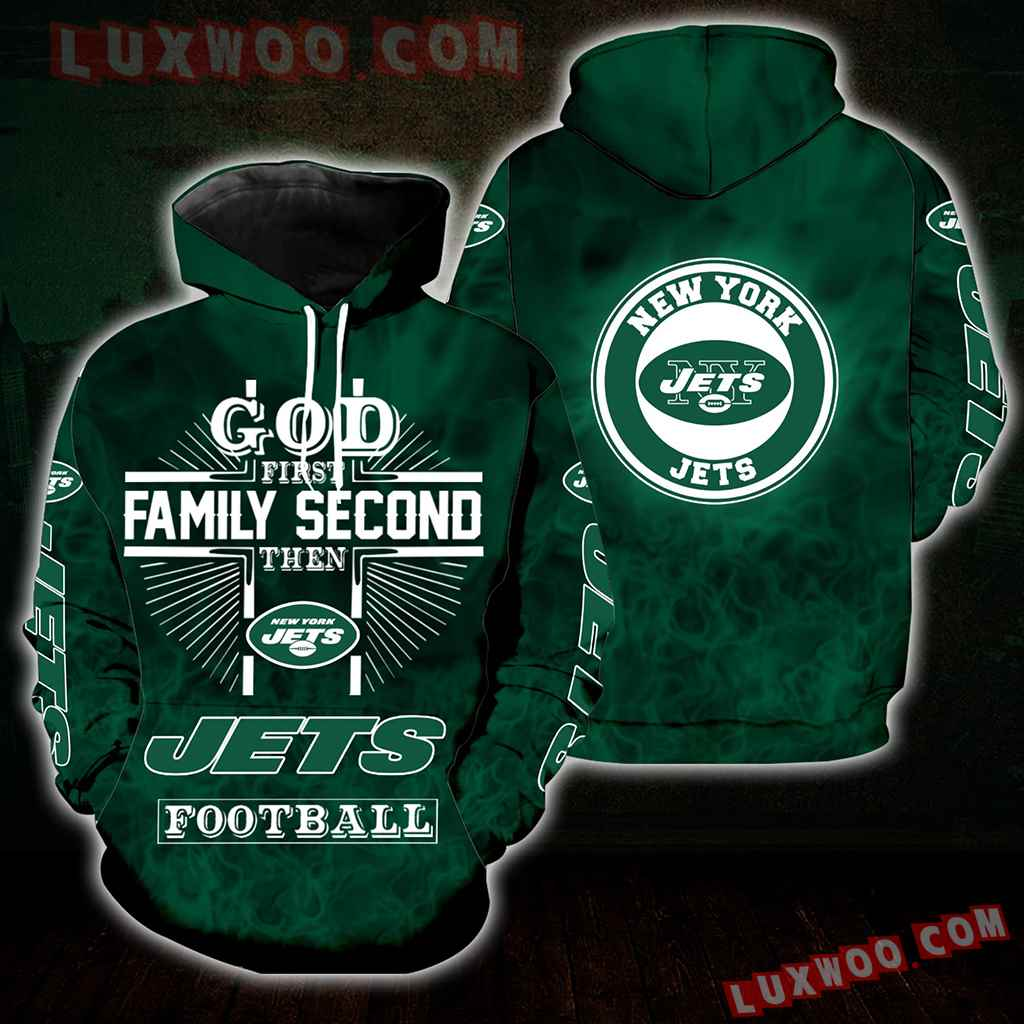 God First Family Second Then Ny Jets Full All Over Print S1396