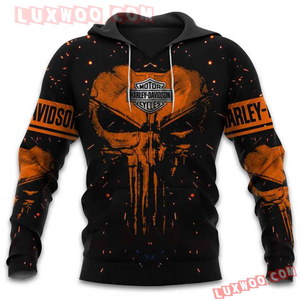 Harley Davidson Motorcycle Full All Over Print K3057