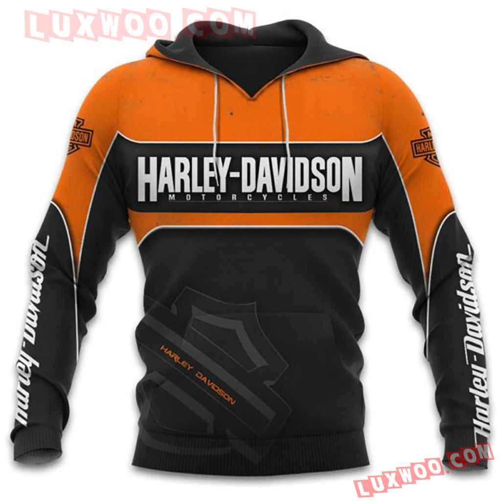 Harley Davidson Motorcycle Full All Over Print K3058