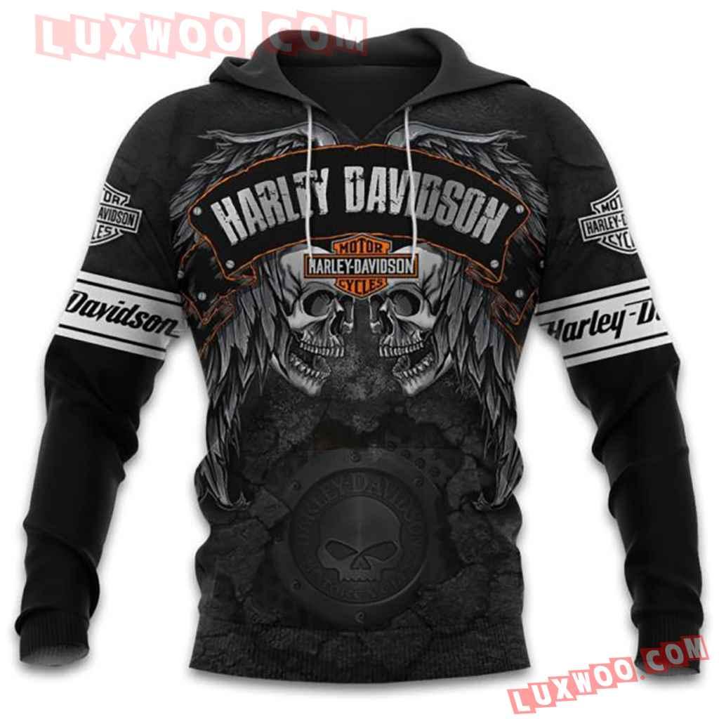 Harley Davidson Motorcycle Full All Over Print K3062