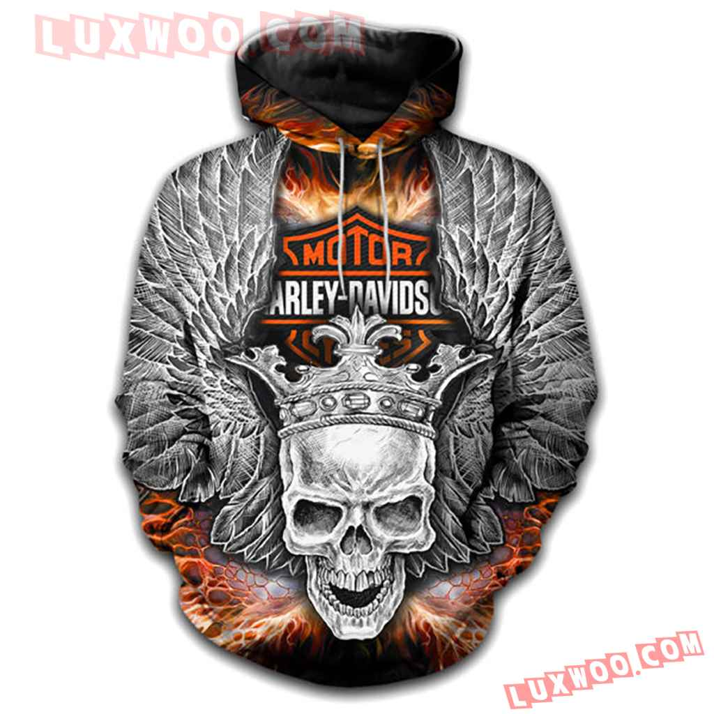 Harley Davidson Motorcycle Full All Over Print K3078