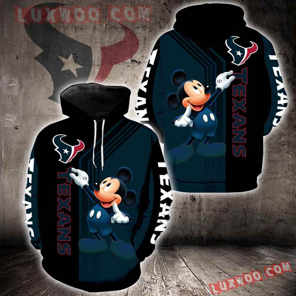 Houston Texans Mickey Mouse New Full All Over Print K1320