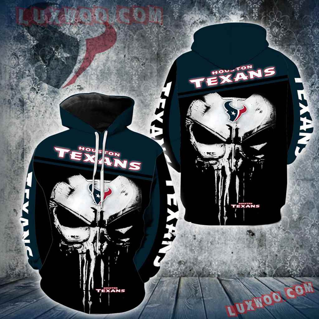 Houston Texans Punisher New Skull Full All Over Print K1229