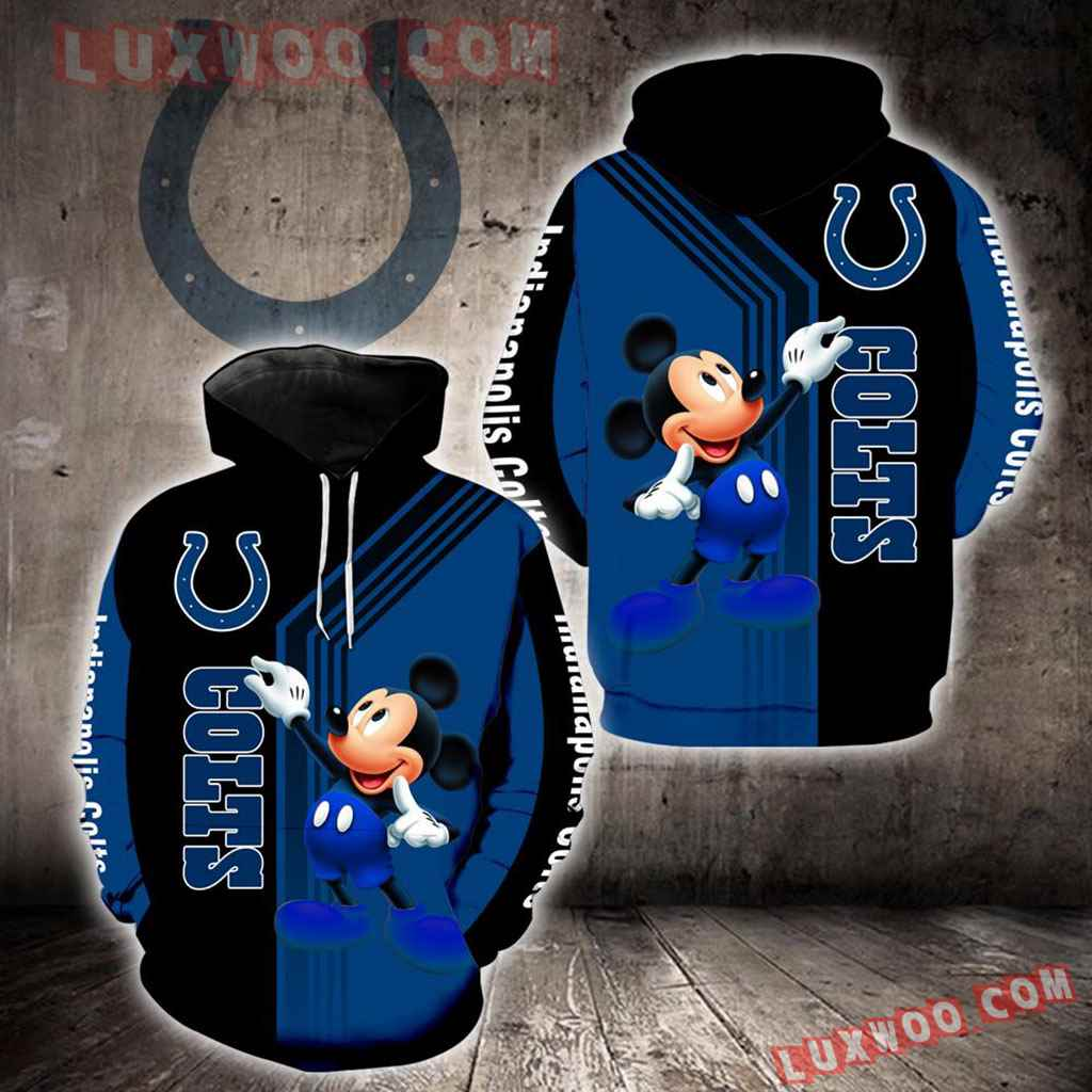 Indianapolis Colts Mickey Mouse New Full All Over Print K1322