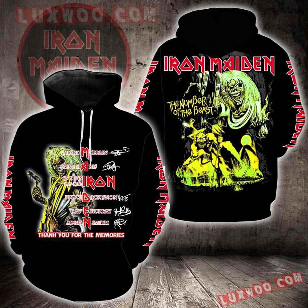 Iron Maiden New Full All Over Print K1424