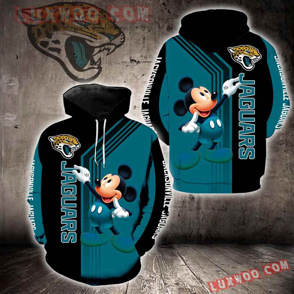 Jacksonville Jaguars Mickey Mouse New Full All Over Print K1324