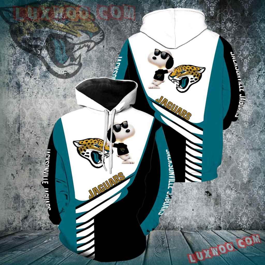 Jacksonville Jaguars Snoopy New Full Over Print K1111