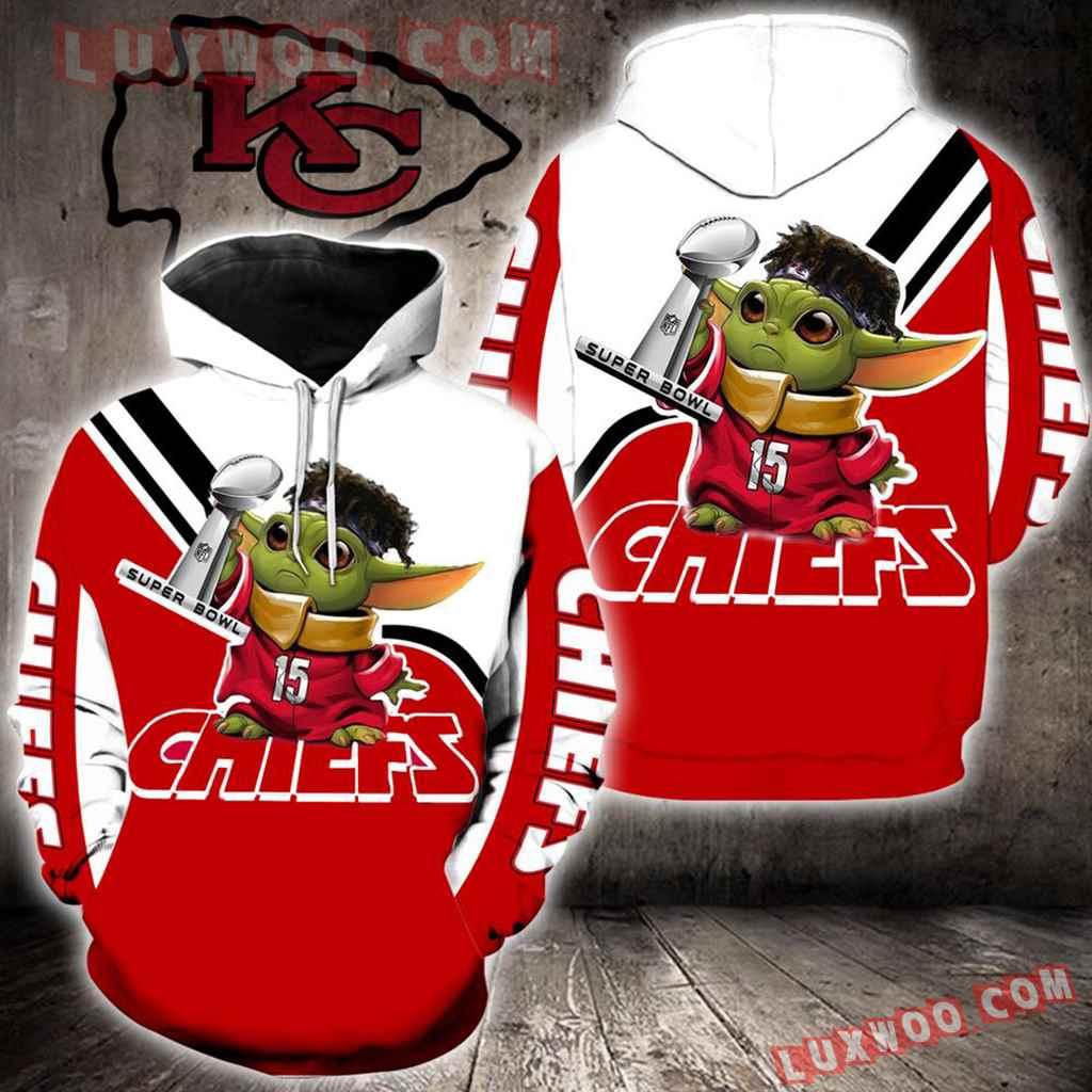 Kansas City Chiefs Baby Yoda Full All Over Print K1421