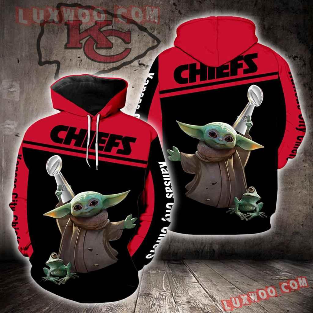 Kansas City Chiefs Baby Yoda New Full All Over Print K1411