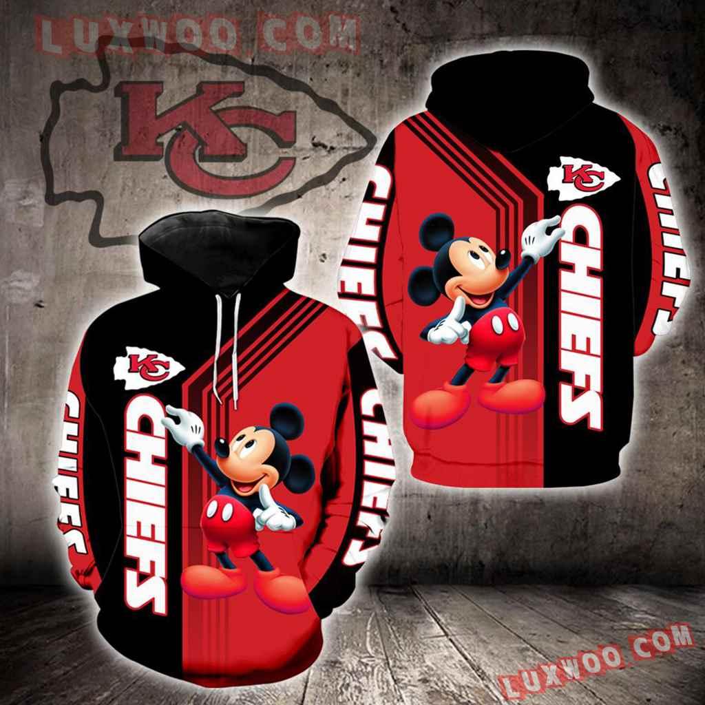 Kansas City Chiefs Mickey Mouse New Full All Over Print V1475