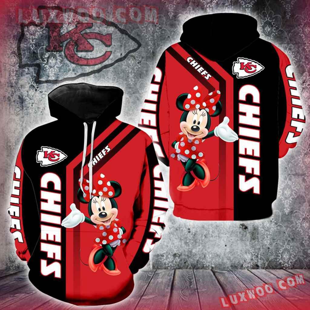 Kansas City Chiefs Minnie Mouse New Full All Over Print V1459