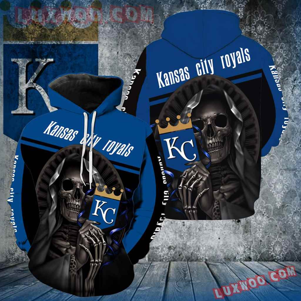 Kansas City Royals Skull New All Over Print V1252