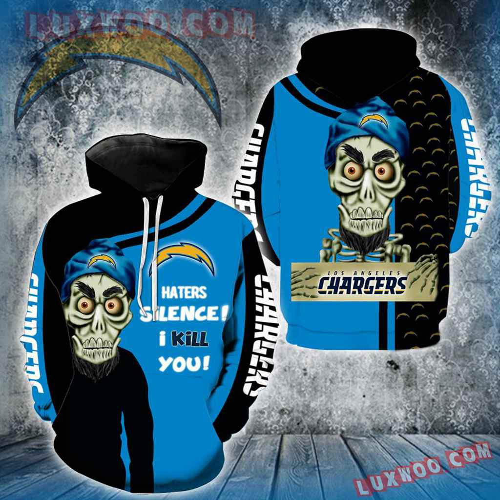 Los Angeles Chargers Achmed Skull Full All Over Print V1417