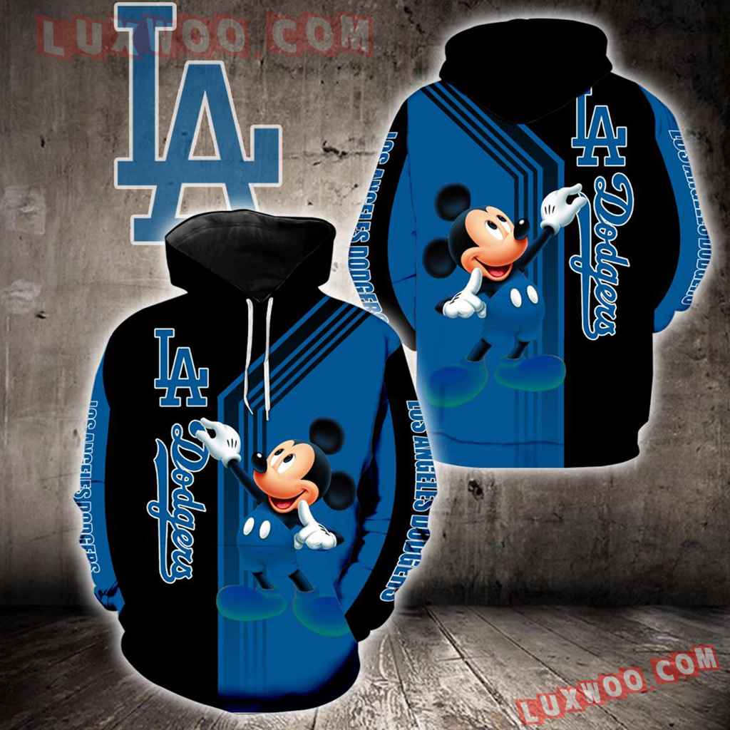 Los Angeles Dodgers Mickey Mouse New Full All Over Print V1499