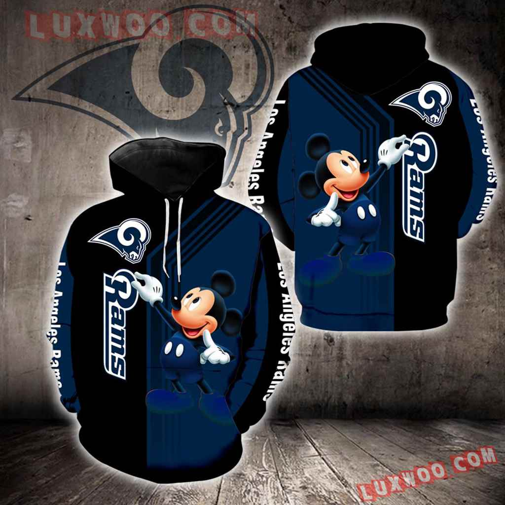 Los Angeles Rams Mickey Mouse New Full All Over Print K1344