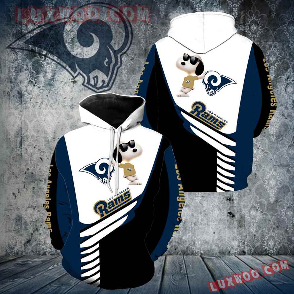 Los Angeles Rams Snoopy New Full Over Print V1345