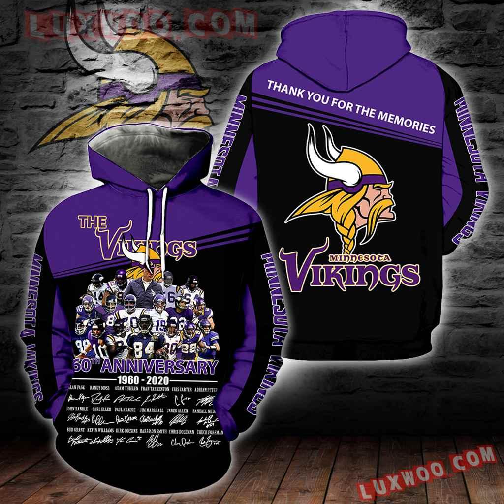 Minnesota Vikings New Full All Over Print K1937