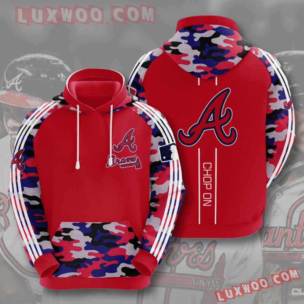 Mlb Atlanta Braves 3d Hoodie V5