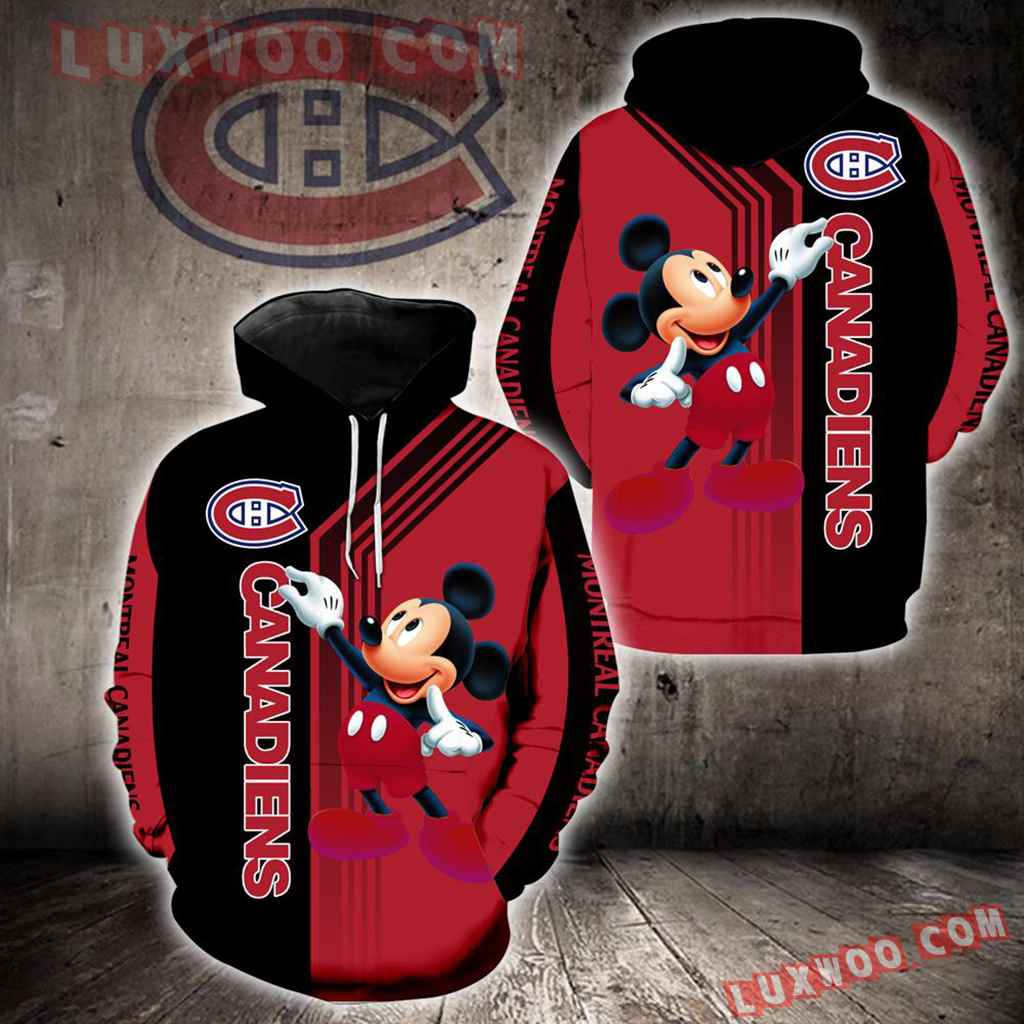 Montreal Canadiens Mickey Mouse New Full All Over Print V1539