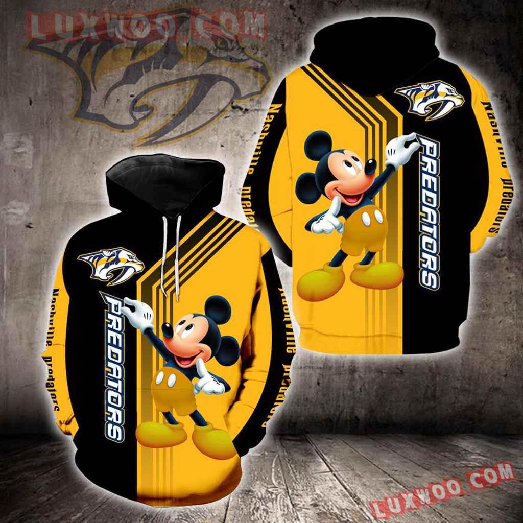 Nashville Predators Mickey Mouse New Full All Over Print V1518