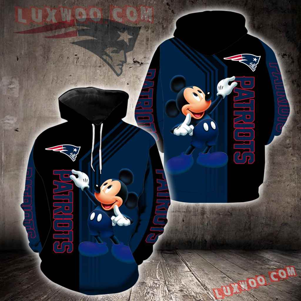New England Patriots Mickey Mouse New Full All Over Print K1243