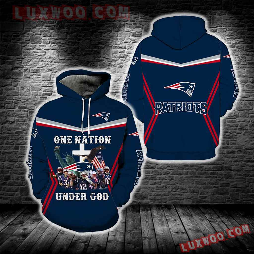 New England Patriots One Nation Under God Full All Over Print S1690