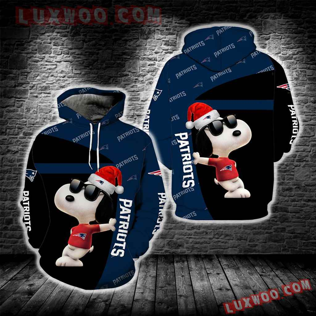 New England Patriots Snoopy New Full All Over Print S1681