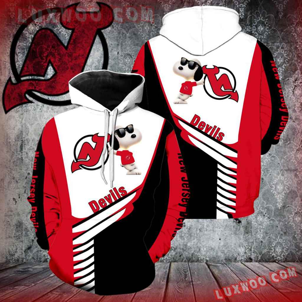 New Jersey Devils Snoopy Full Over Print K1063