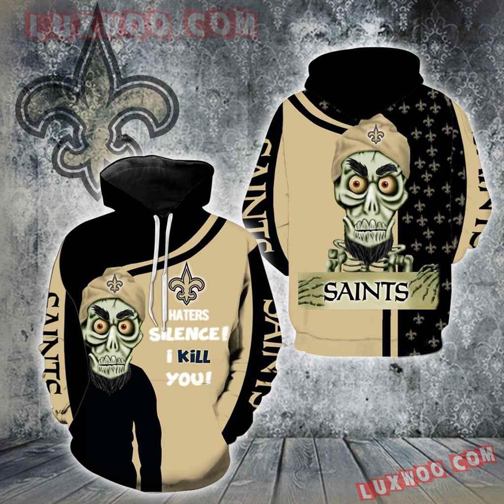 New Orleans Saints Achmed New Skull Full All Over Print K1209