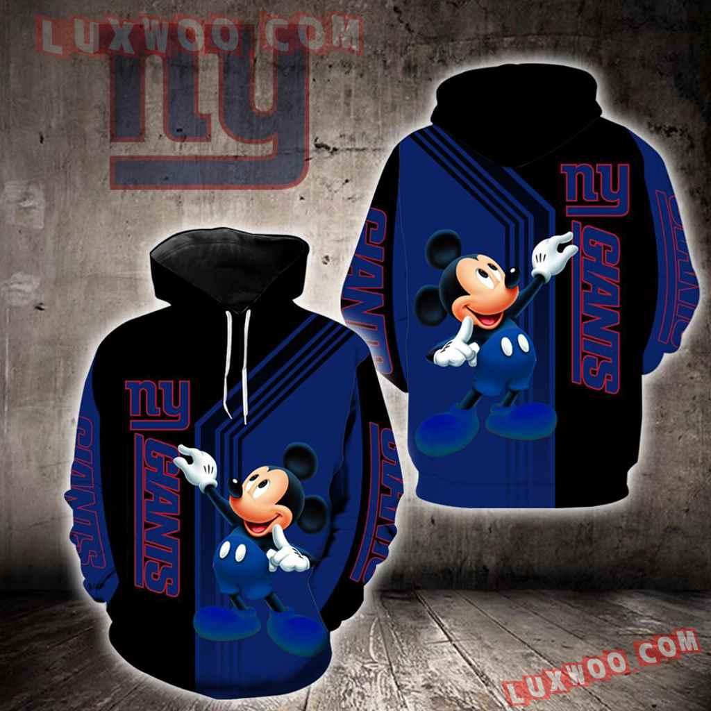 New York Giants Mickey Mouse New Full All Over Print V1490