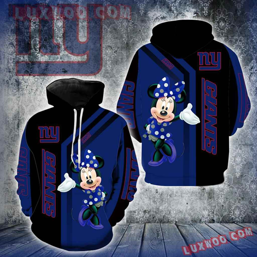 New York Giants Minnie Mouse New Full All Over Print V1453