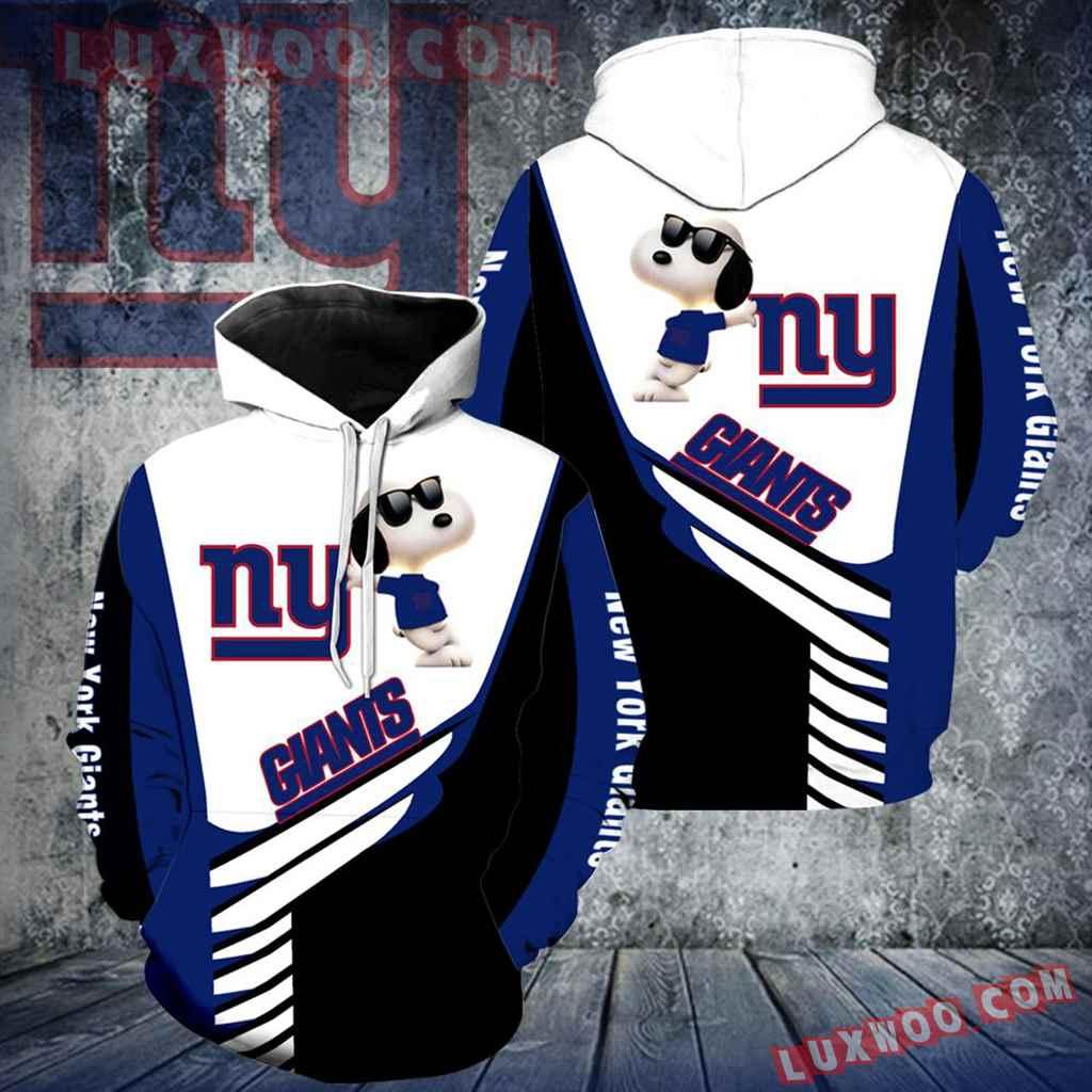 New York Giants Snoopy New Full Over Print K1102
