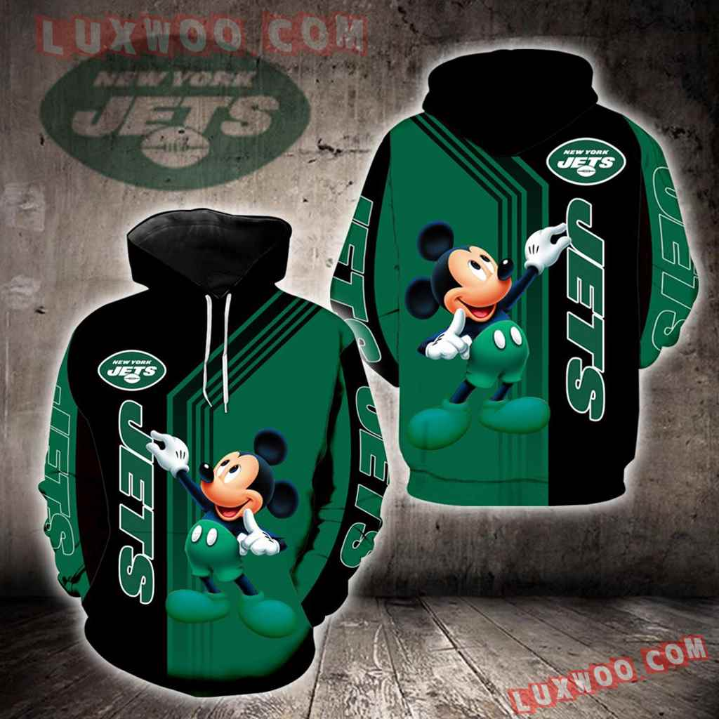 New York Jets Mickey Mouse New Full All Over Print V1477