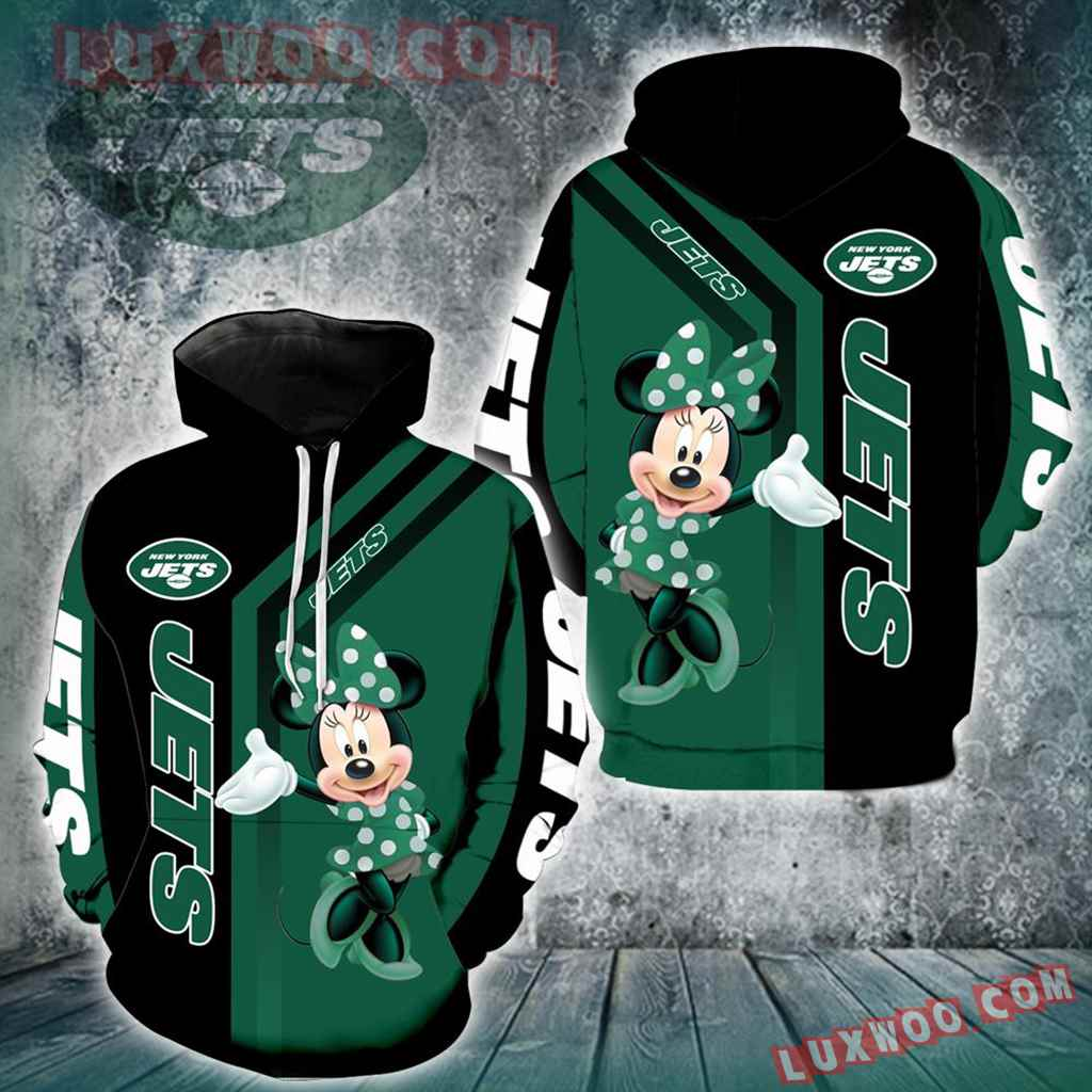 New York Jets Minnie Mouse New Full All Over Print V1461