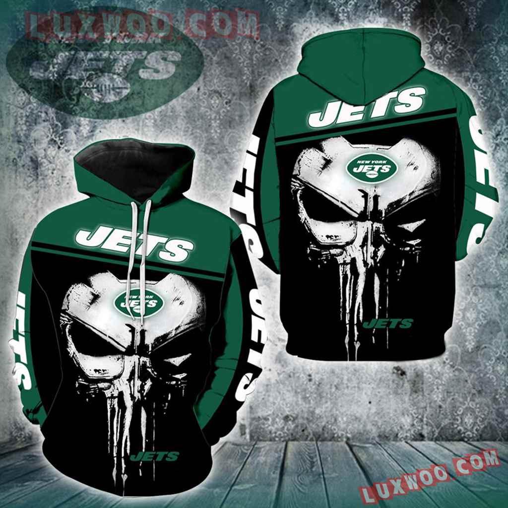 New York Jets Punisher New Skull Full All Over Print K1225