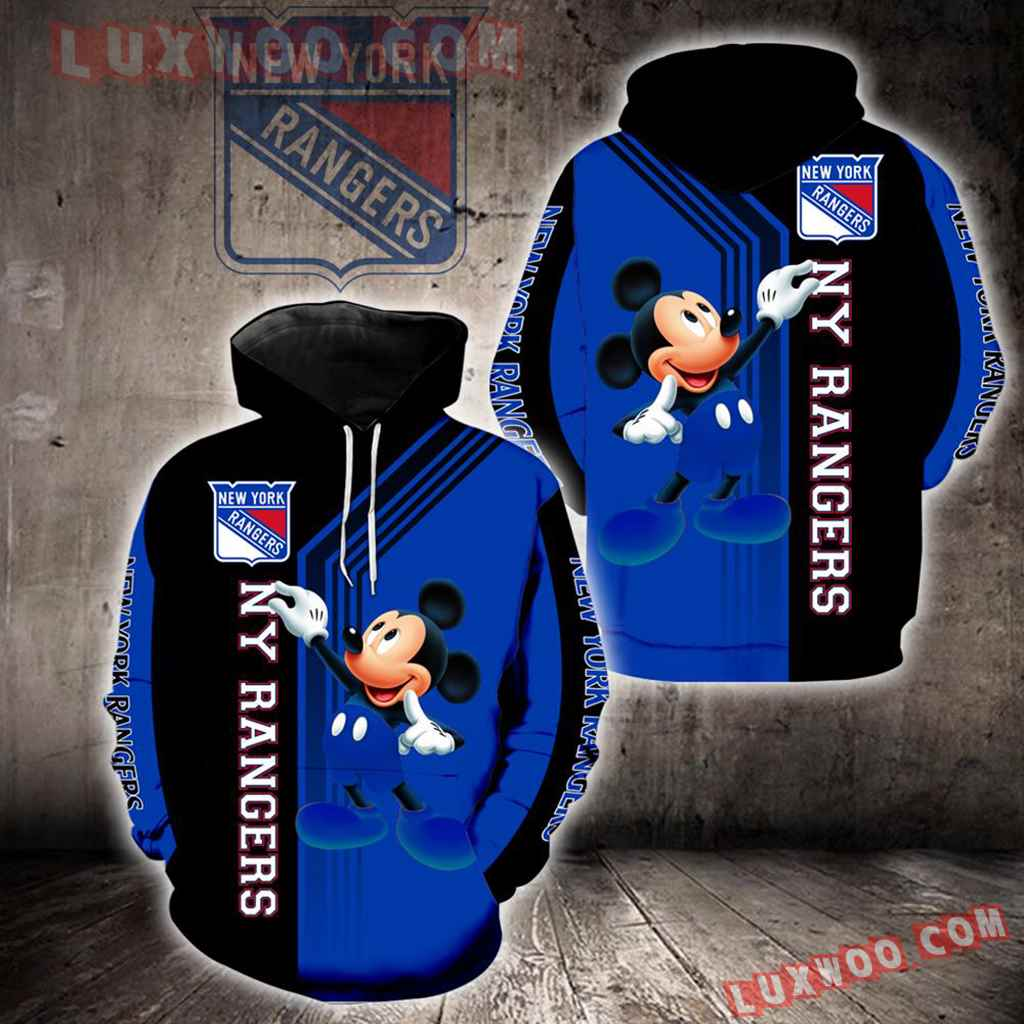 New York Rangers Mickey Mouse New Full All Over Print V1534