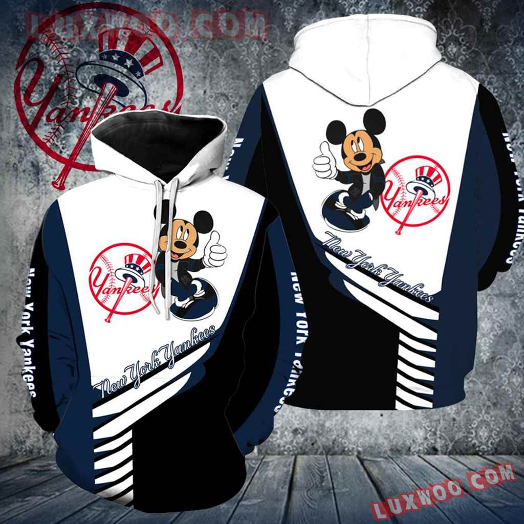 New York Yankees Mickey Mouse New All Over Print V1295