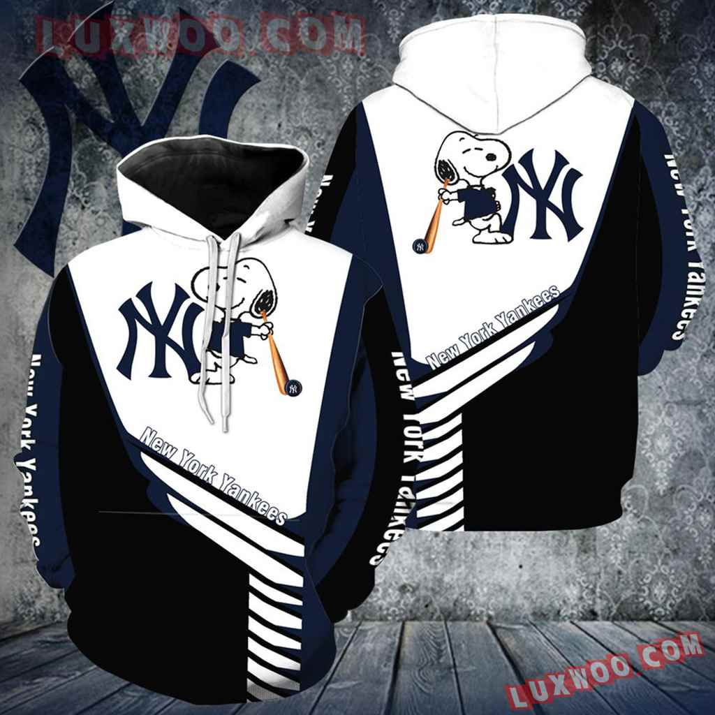 New York Yankees Snoopy New All Over Print V1272