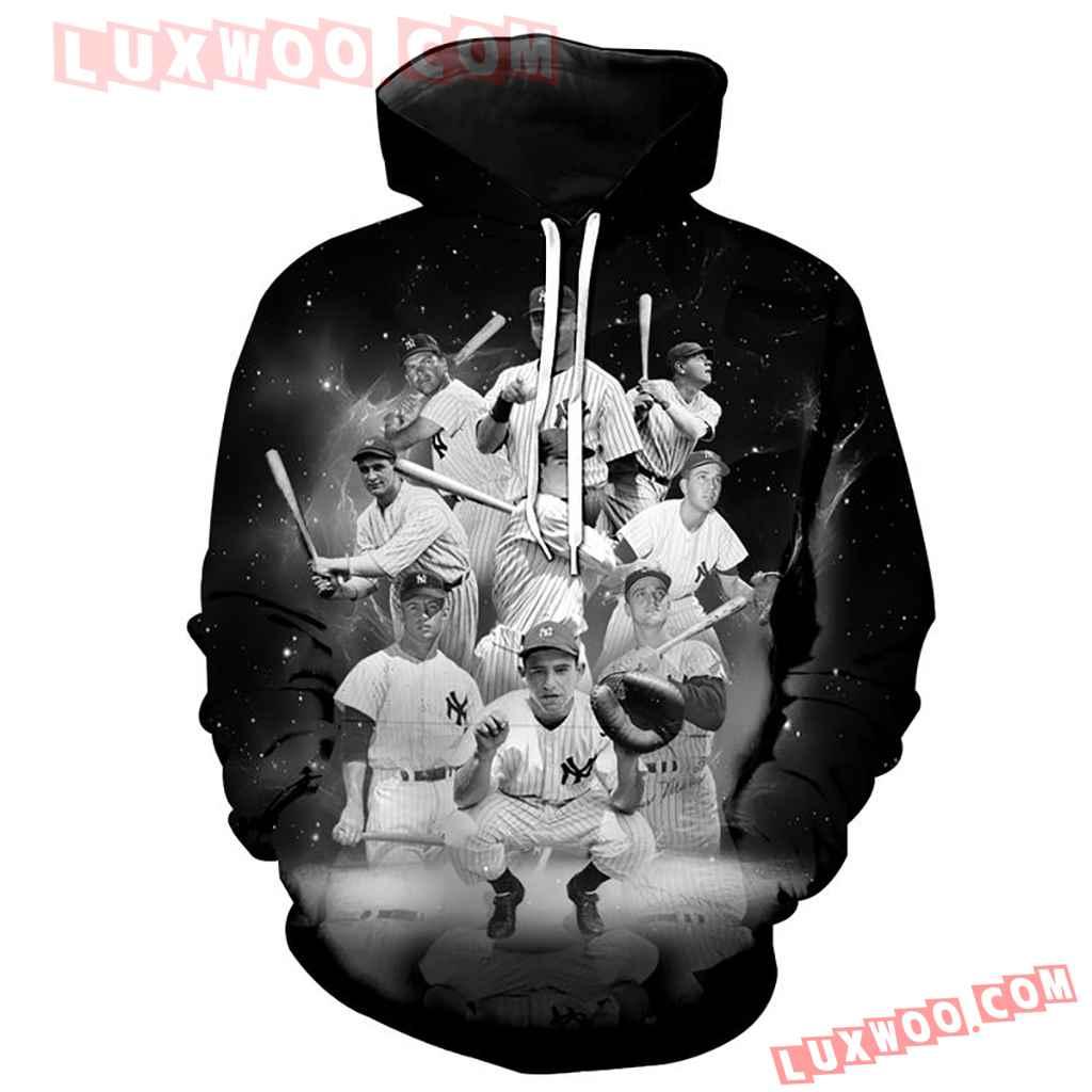 New York Yankees The 9 Legends Full Over Print