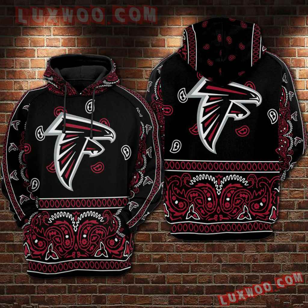 Nfl Atlanta Falcons 3d Hoodie For Men For Women All Over Printed Hoodie 5