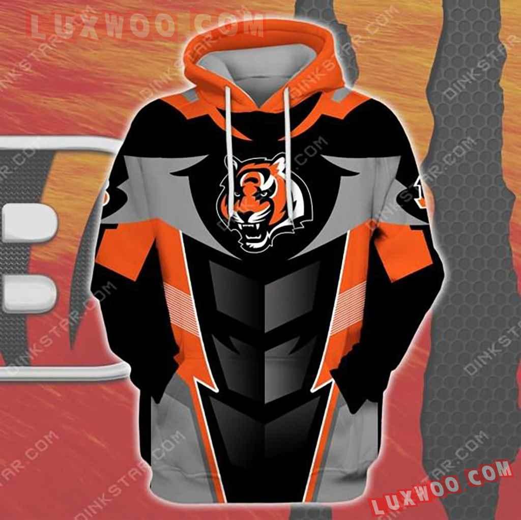 Nfl Cincinnati Bengals 3d Hoodie 1