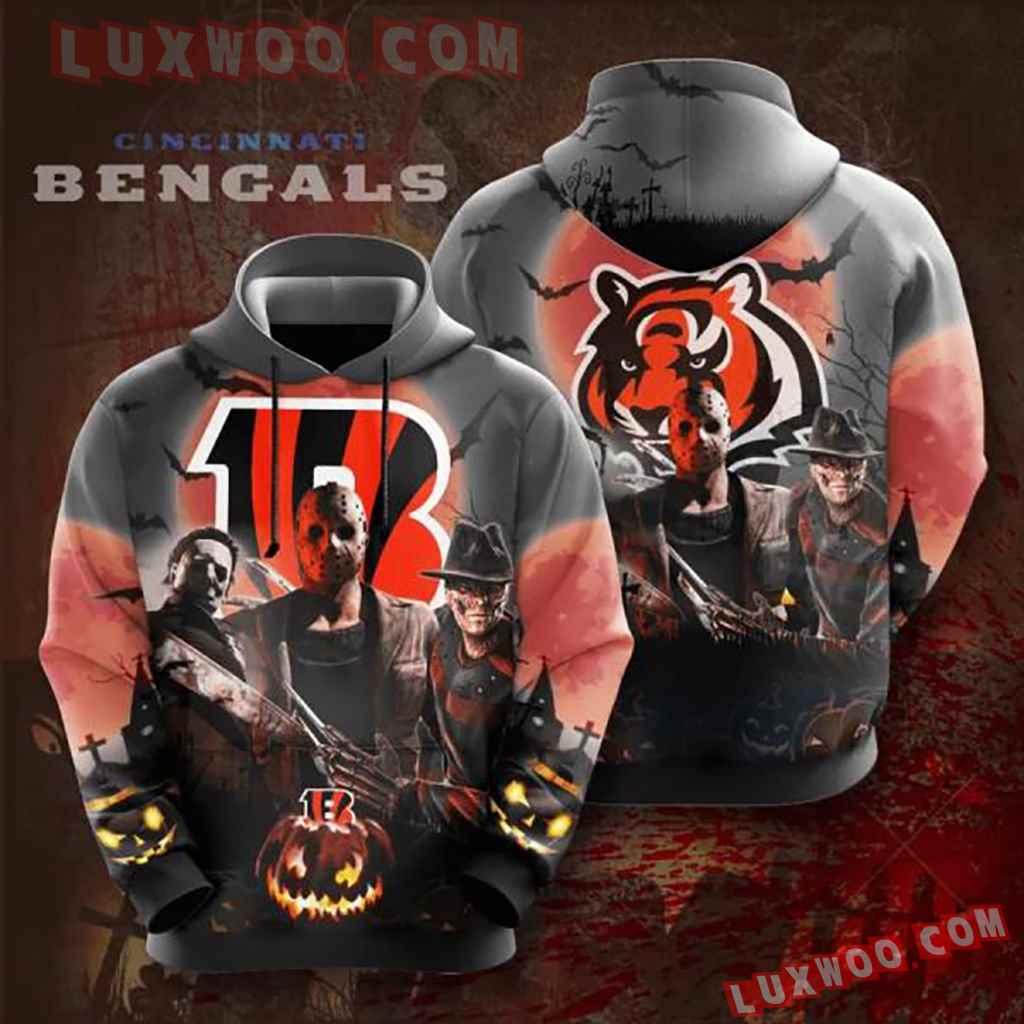 Nfl Cincinnati Bengals 3d Hoodie 4