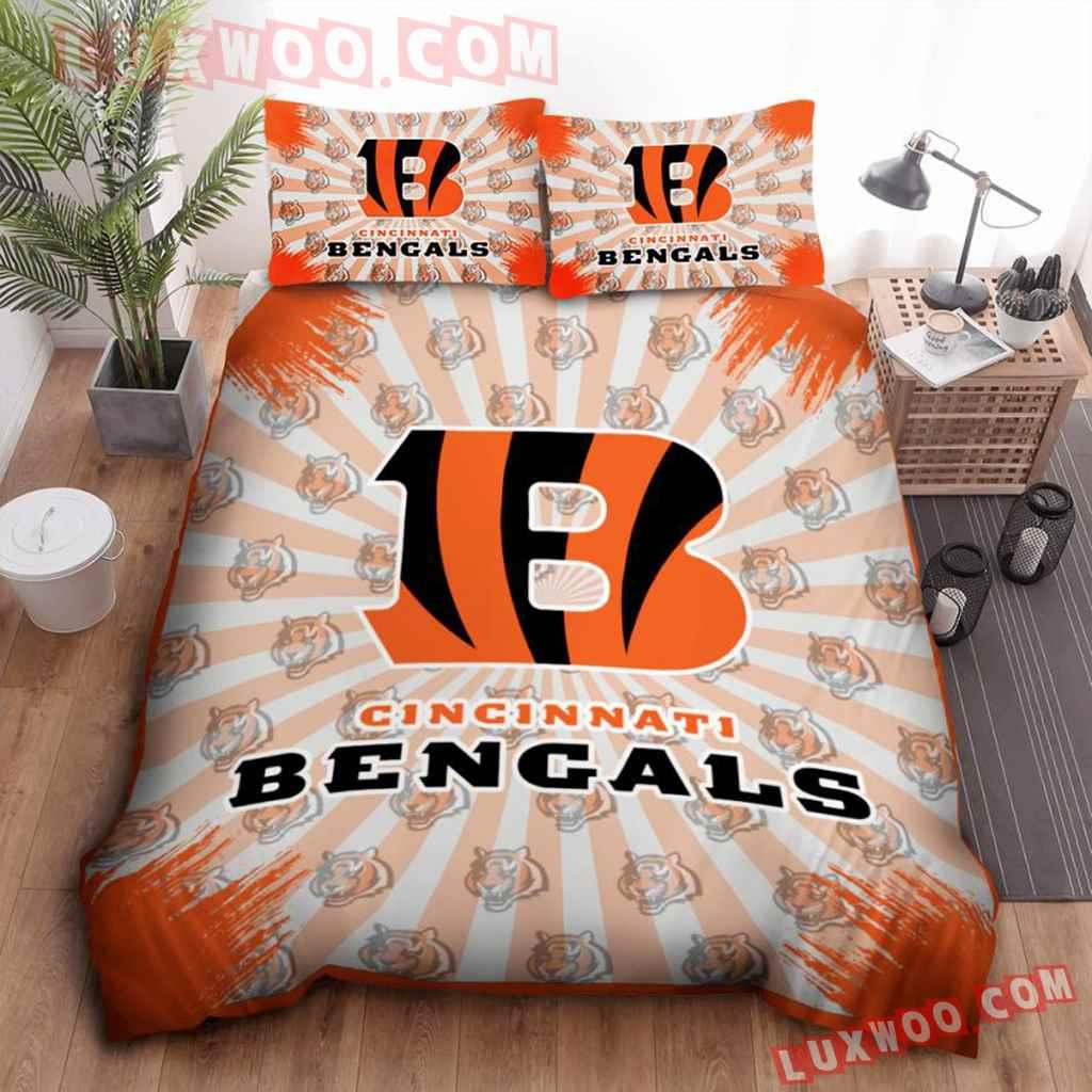 Nfl Cincinnati Bengals Bedding Set Tnt-00167-bed